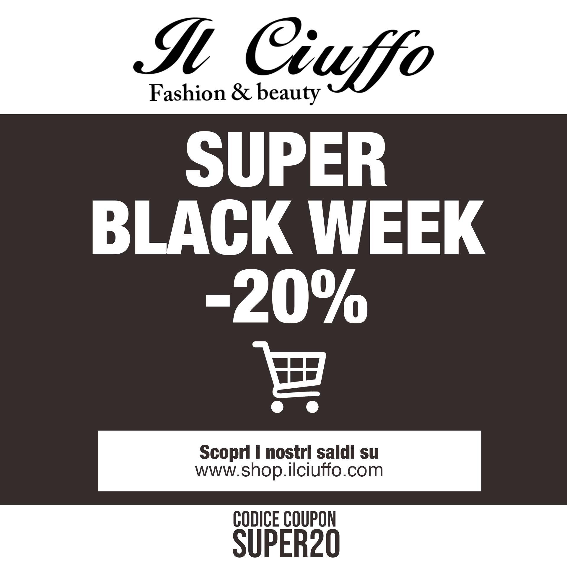 black week il ciuffo vercelli black friday